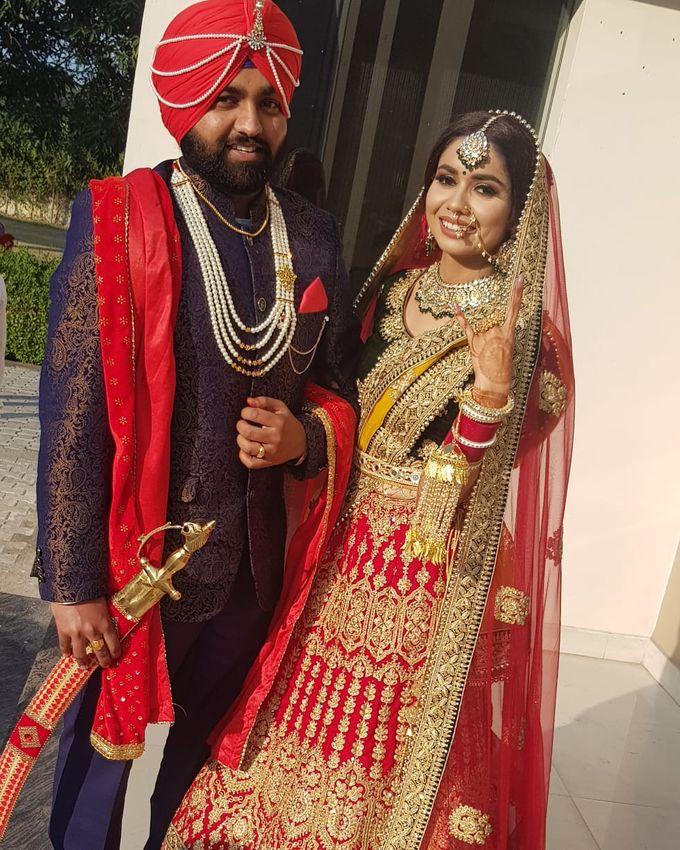 Shades Of Bridal makeups by Makeover By Garima Baranwal - 008
