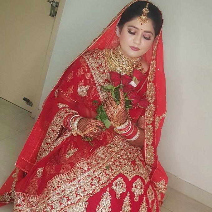 Shades Of Bridal makeups by Makeover By Garima Baranwal - 026