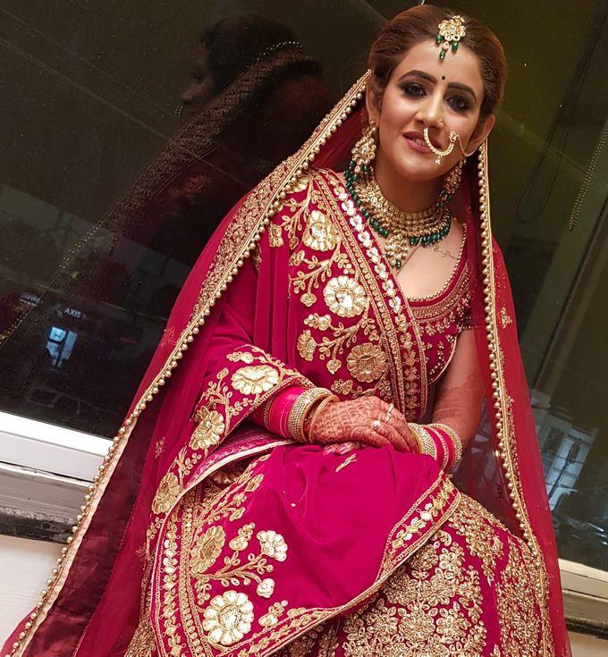 Shades Of Bridal makeups by Makeover By Garima Baranwal - 007
