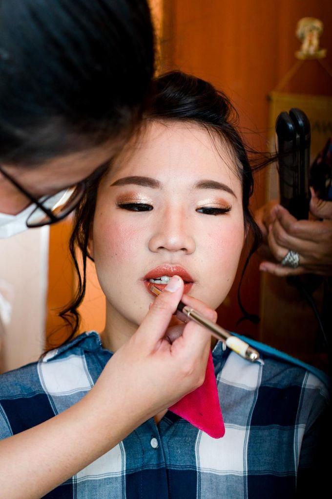 Sangjit Of Jessica & Charles by Alexandra Makeup Artist - 007