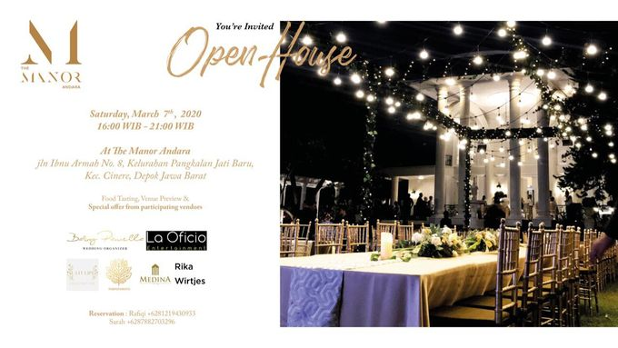 Open House & Food Tasting At The Manor - Andara by Medina Catering - 002
