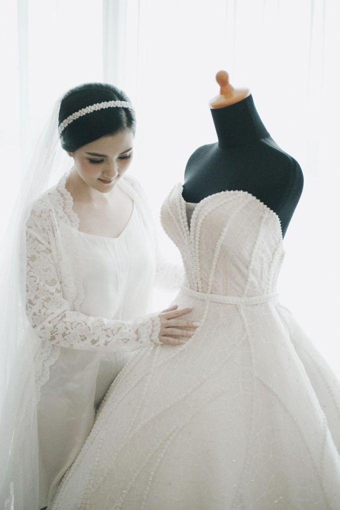 The Wedding Of Febri & Carren by de_Puzzle Event Management - 020