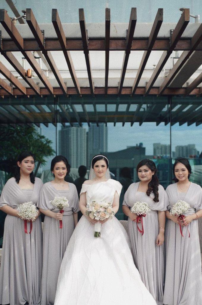 The Wedding Of Febri & Carren by de_Puzzle Event Management - 027