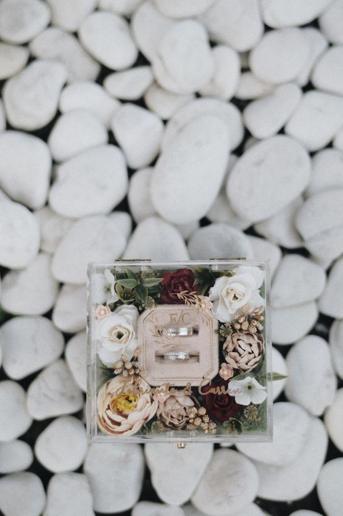 The Wedding Of Febri & Carren by de_Puzzle Event Management - 030