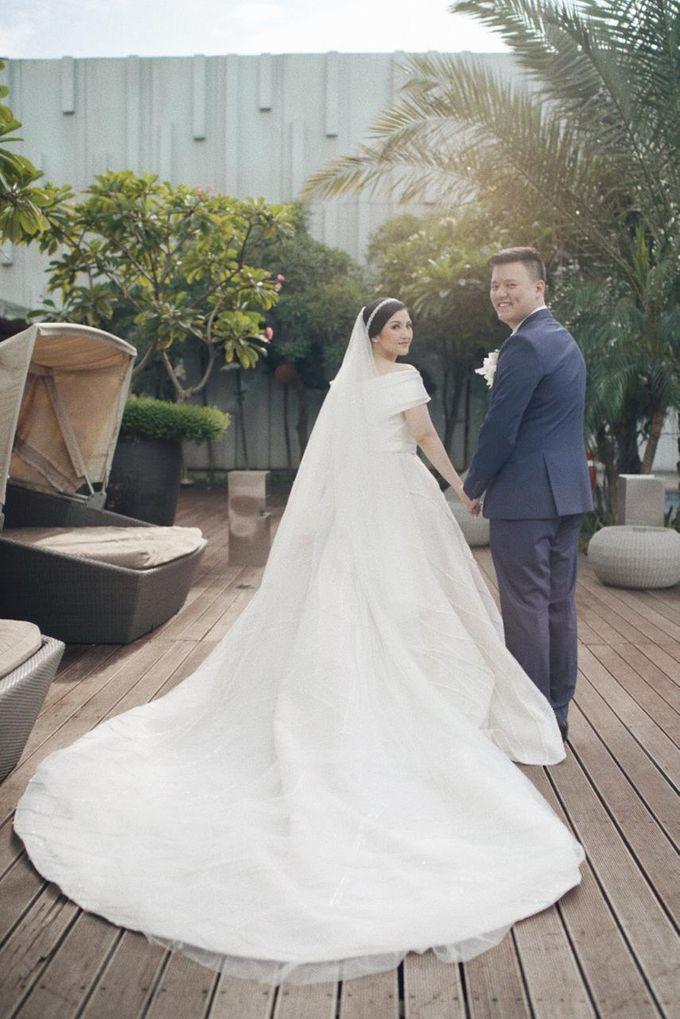 The Wedding Of Febri & Carren by de_Puzzle Event Management - 031