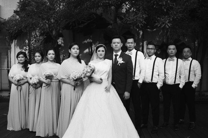 The Wedding Of Febri & Carren by de_Puzzle Event Management - 014
