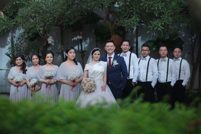 The Wedding Of Febri & Carren by de_Puzzle Event Management - 036