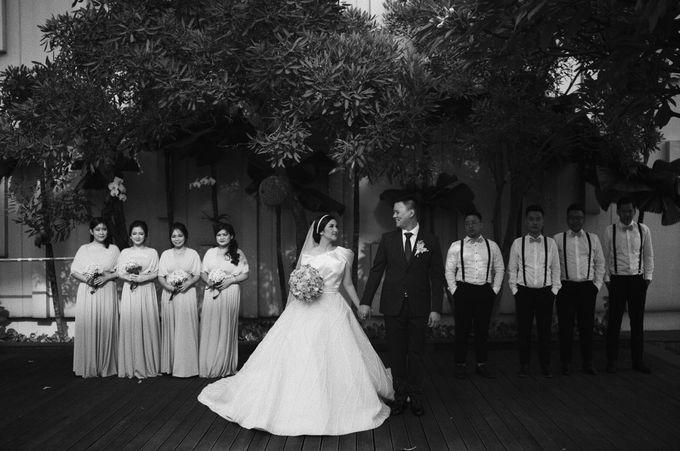 The Wedding Of Febri & Carren by de_Puzzle Event Management - 033