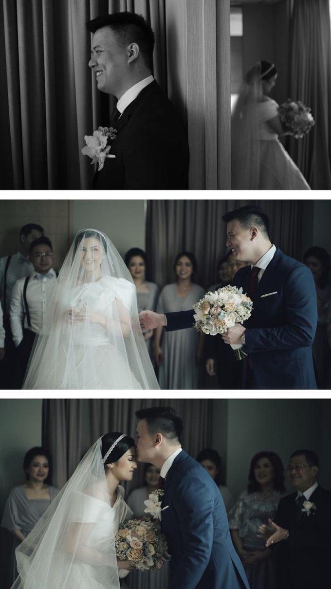 The Wedding Of Febri & Carren by de_Puzzle Event Management - 029