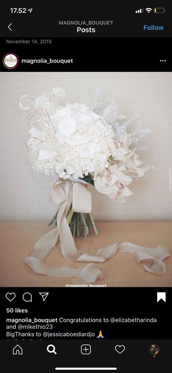 Dried Bouquet Wedding by Magnolia Dried Flower - 004