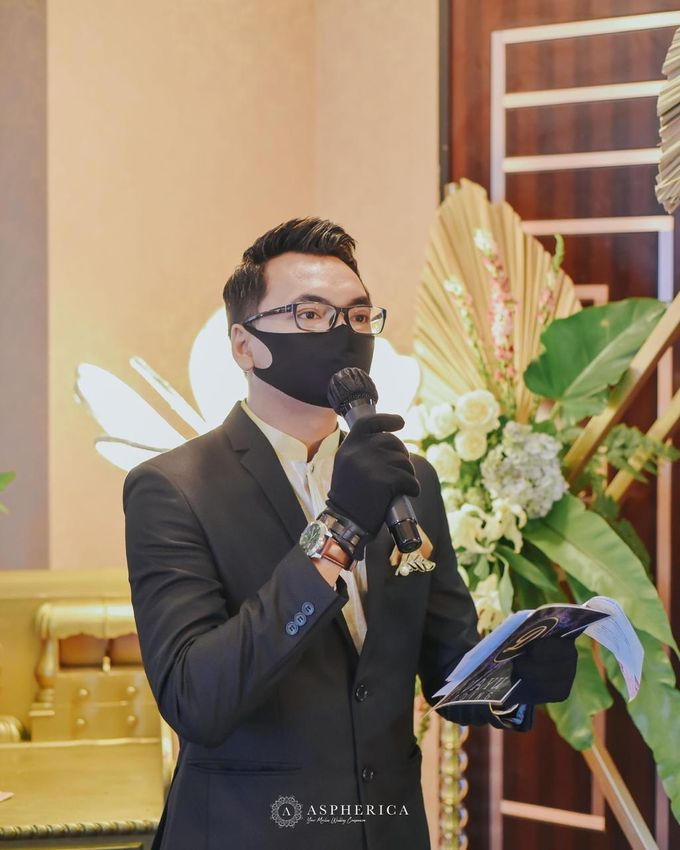 The New Normal Wedding Of Winda & Rizal by HENRY BRILLIANTO - 001
