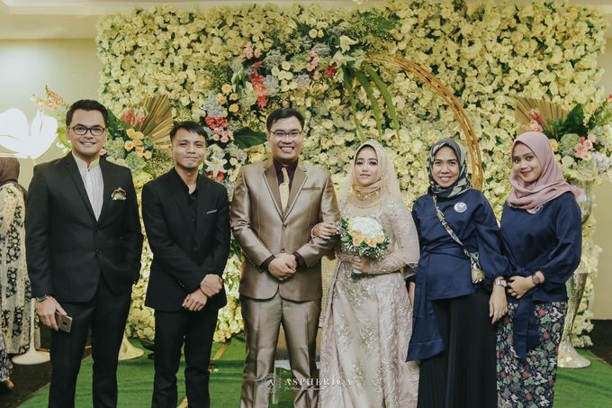 The New Normal Wedding Of Winda & Rizal by HENRY BRILLIANTO - 004