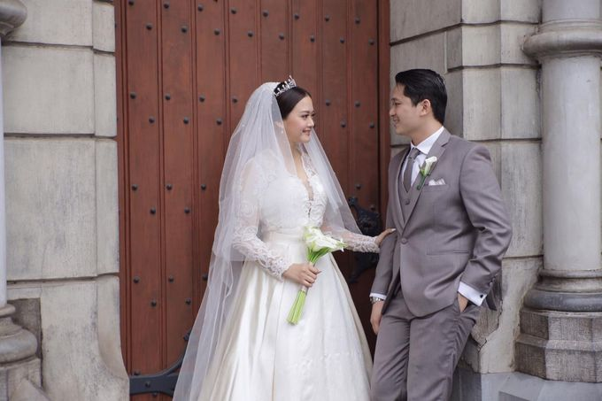 Holy Matrimony Eric & Zazia by The Flower Philosophy - 007