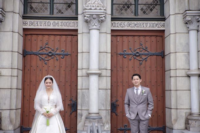 Holy Matrimony Eric & Zazia by The Flower Philosophy - 006