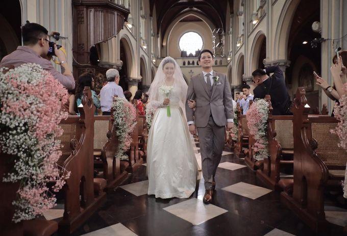 Holy Matrimony Eric & Zazia by The Flower Philosophy - 010