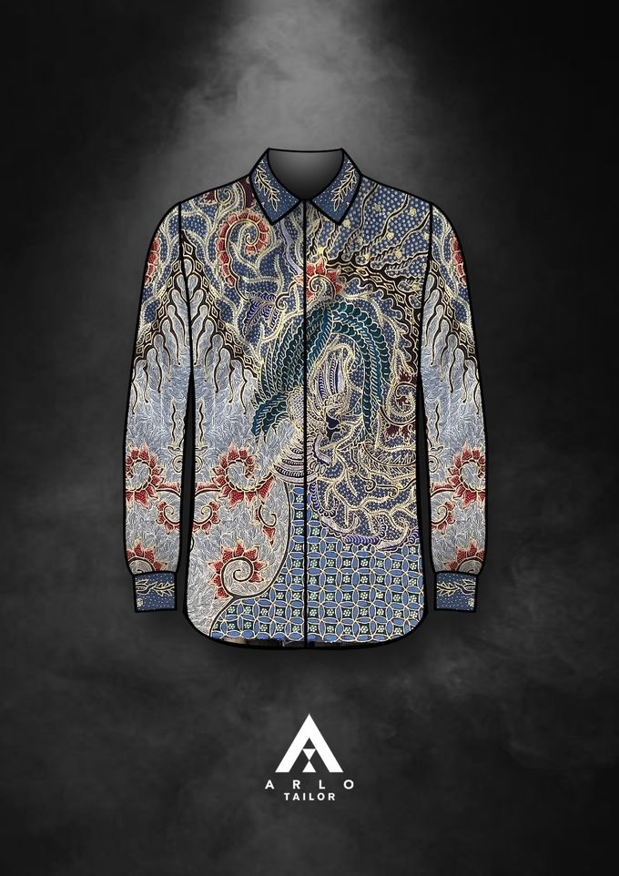 OUR NEW BATIK ARRIVALS!! by ARLO Tailor - 023