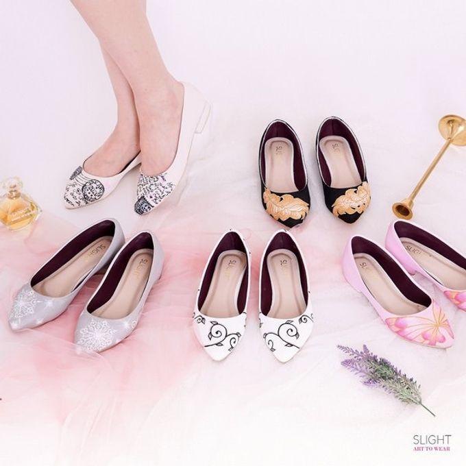 Sepatu Flats Lukis Frosty Silver by SLIGHTshop.com - 003