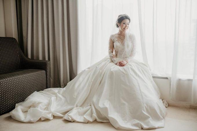 Brandon & Devlyn - Wedding Day by Elina Wang Bridal - 005
