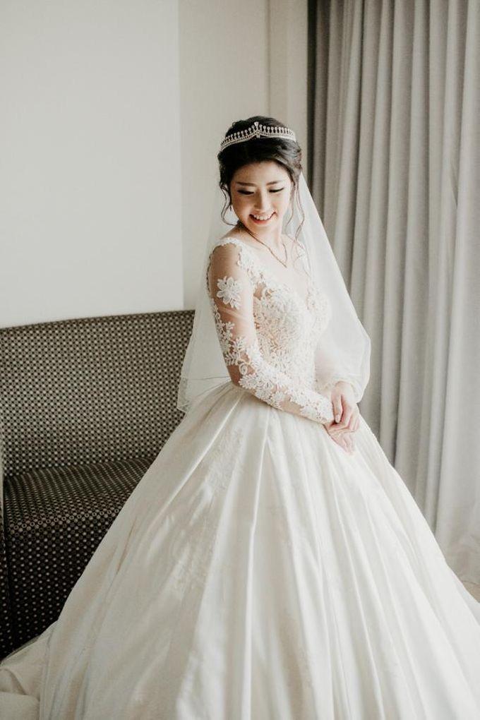 Brandon & Devlyn - Wedding Day by Elina Wang Bridal - 002
