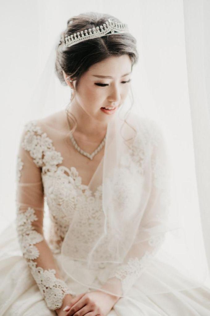 Brandon & Devlyn - Wedding Day by Elina Wang Bridal - 007