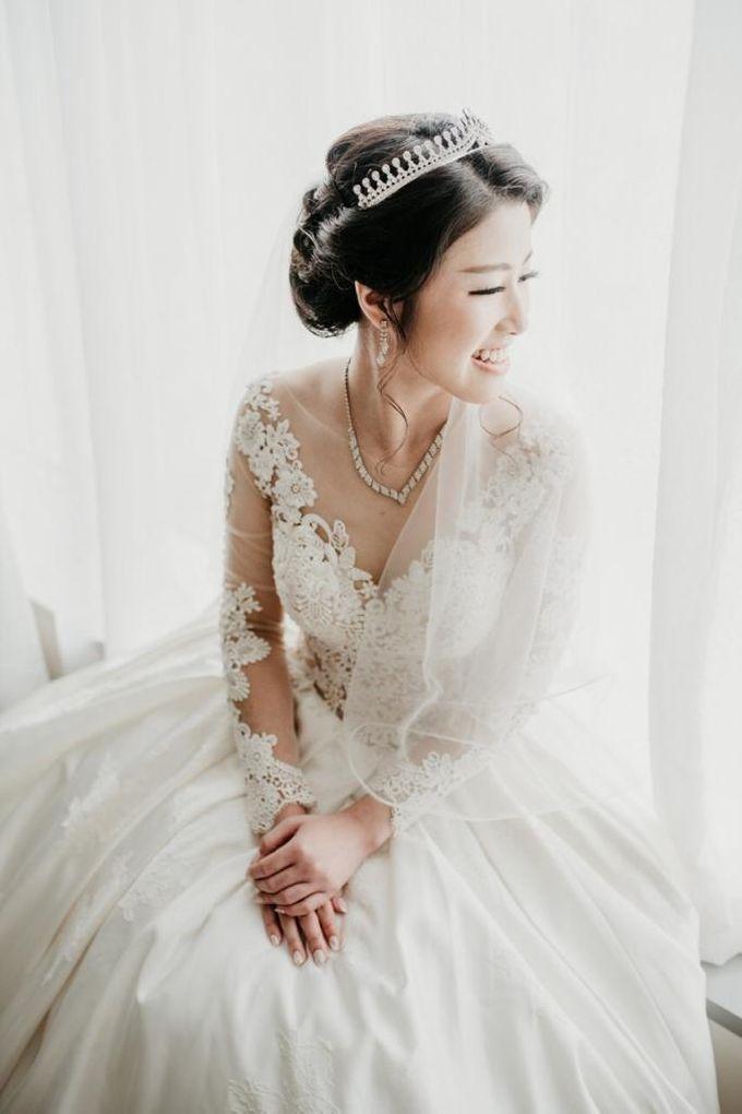 Brandon & Devlyn - Wedding Day by Elina Wang Bridal - 004