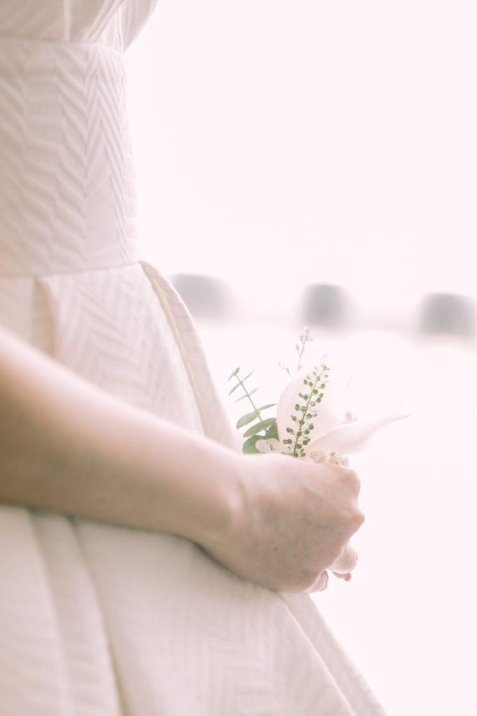 Intimate Wedding - Ivan & Shanty by Elina Wang Bridal - 001
