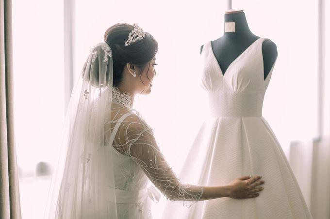 Intimate Wedding - Ivan & Shanty by Elina Wang Bridal - 004