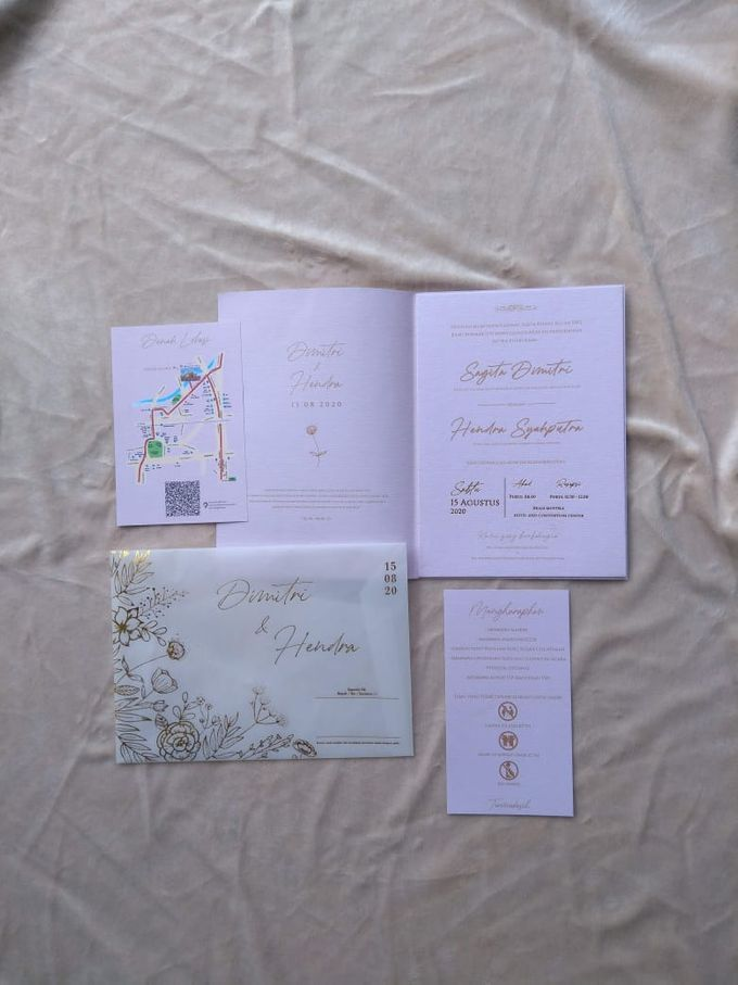 Hard mix soft cover with vellum full hotprint by Keeano Project - 002