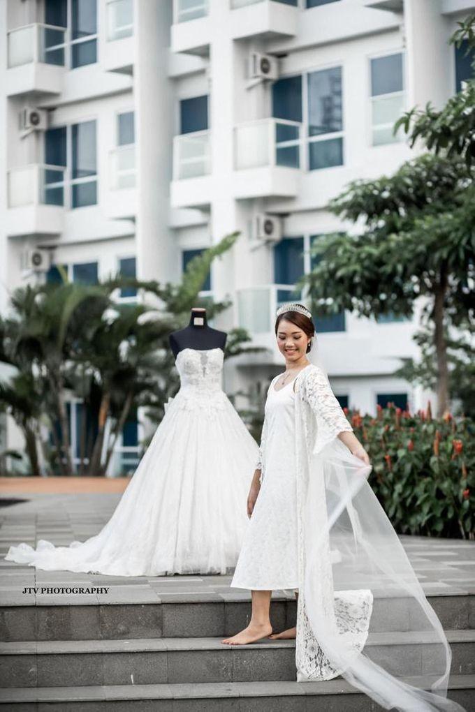 Wedding Of Dera & Marchia by Elina Wang Bridal - 006