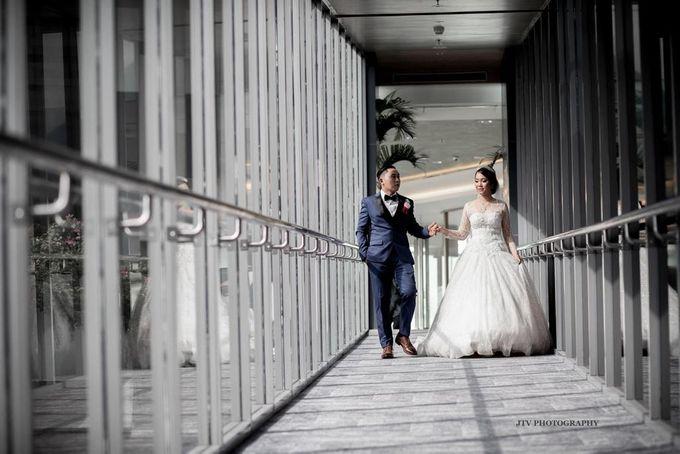Wedding Of Dera & Marchia by Elina Wang Bridal - 005