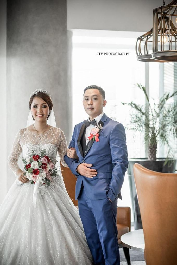 Wedding Of Dera & Marchia by Elina Wang Bridal - 001