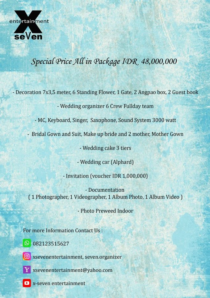 All In Package by X-Seven Entertainment - 001