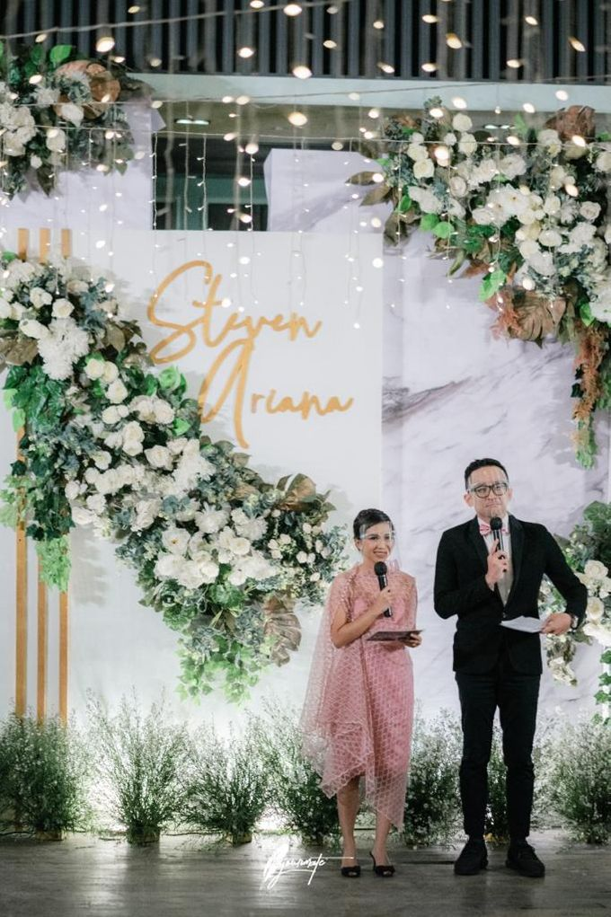 Wedding Of Steven & Ariana by MC Samuel Halim - 002