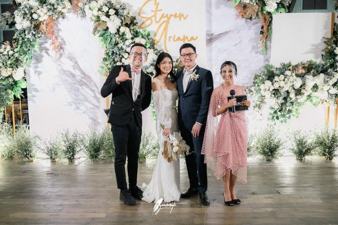 Wedding Of Steven & Ariana by MC Samuel Halim - 001