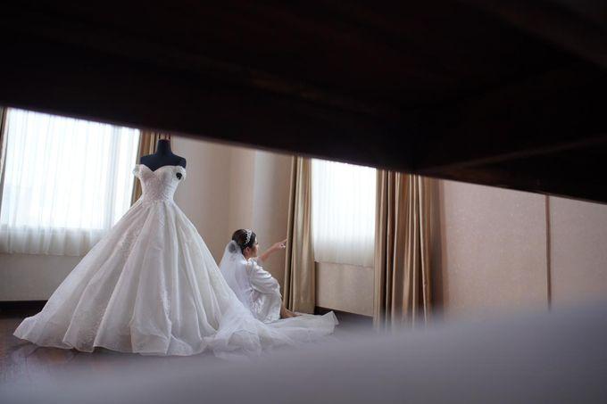 Wedding Of Ricky & Vanessa by Elina Wang Bridal - 002