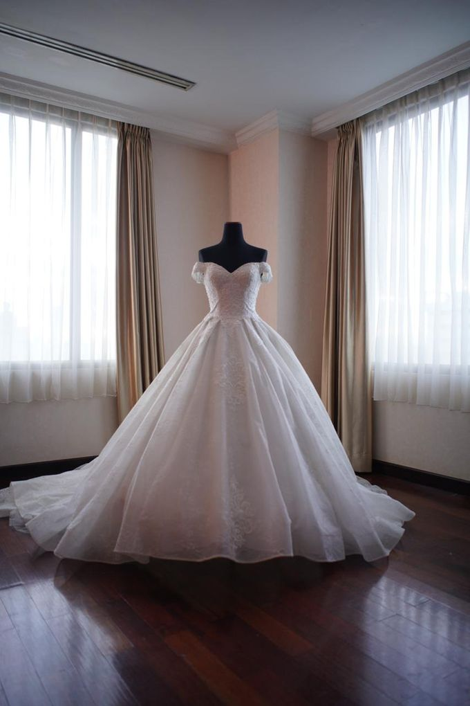 Wedding Of Ricky & Vanessa by Elina Wang Bridal - 008