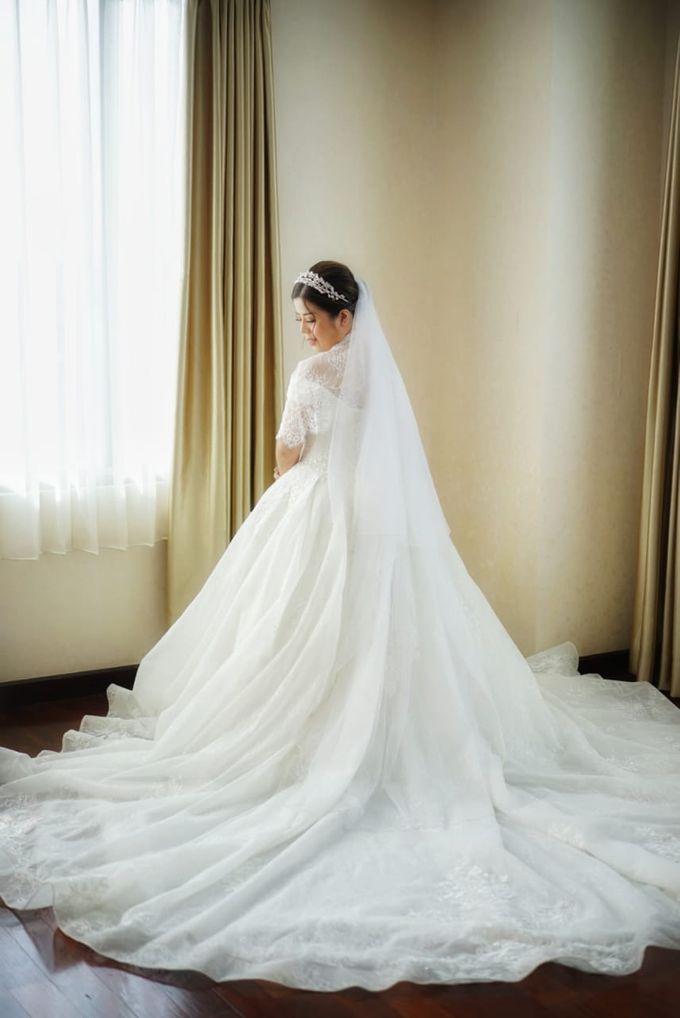 Wedding Of Ricky & Vanessa by Elina Wang Bridal - 001