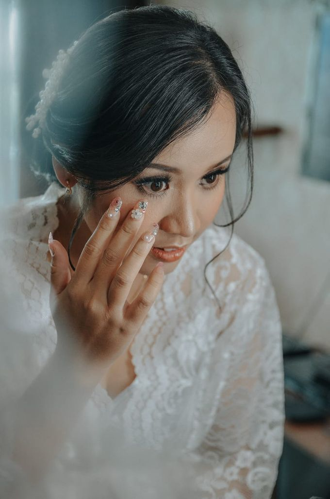 Holy Matrimony Makeup for Katarina by Nike Makeup & Hairdo - 008