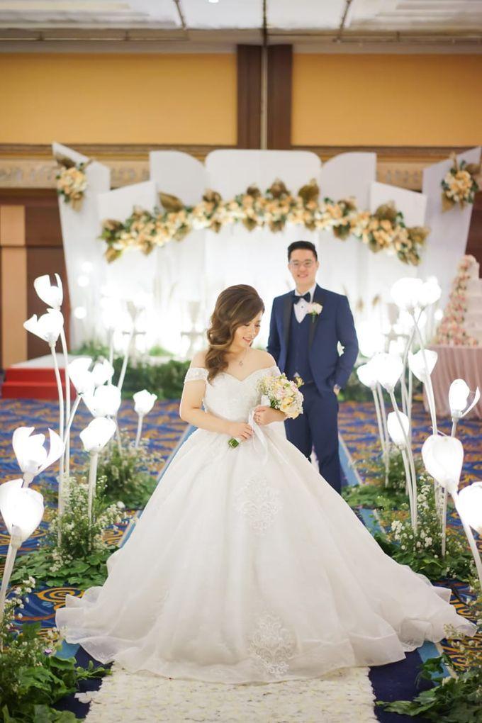 Wedding Of Ricky & Vanessa by Elina Wang Bridal - 006