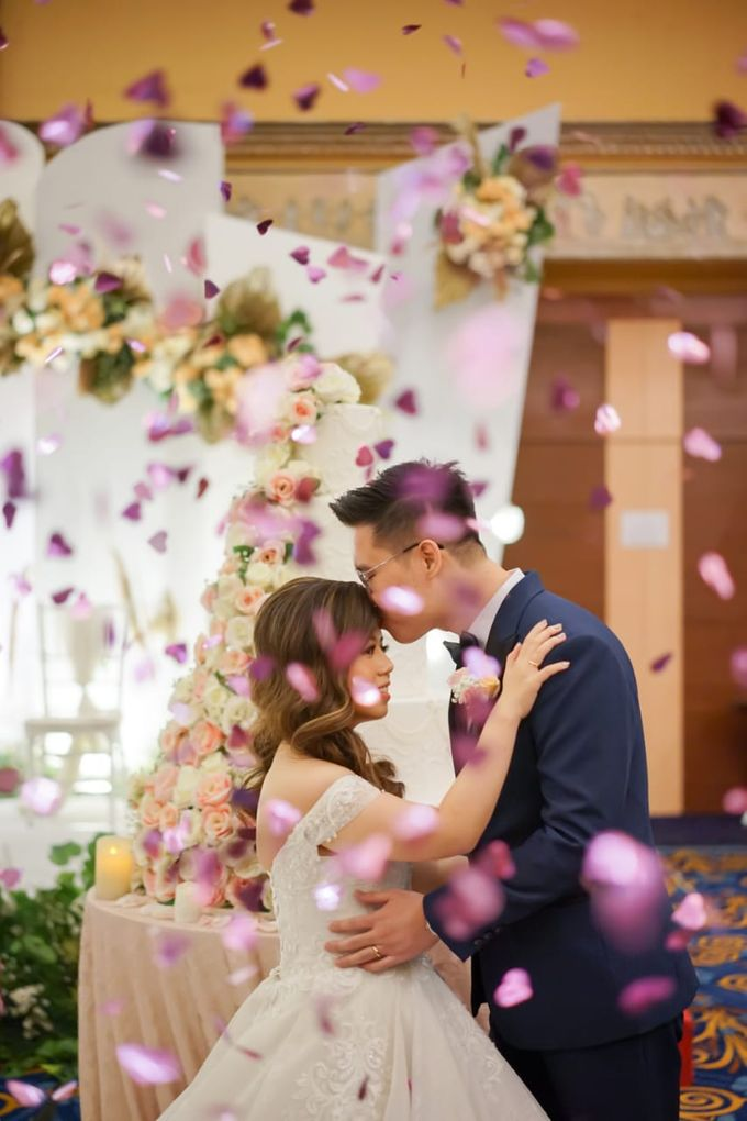 Wedding Of Ricky & Vanessa by Elina Wang Bridal - 005