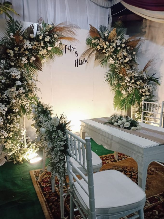 Wedding Fitri Dan Huda by ARL Decoration - 001