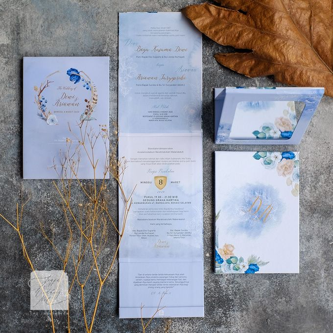 Mirror Wedding Invitation - DEWI & ARIAWAN by Jogja Wedding Net - 005