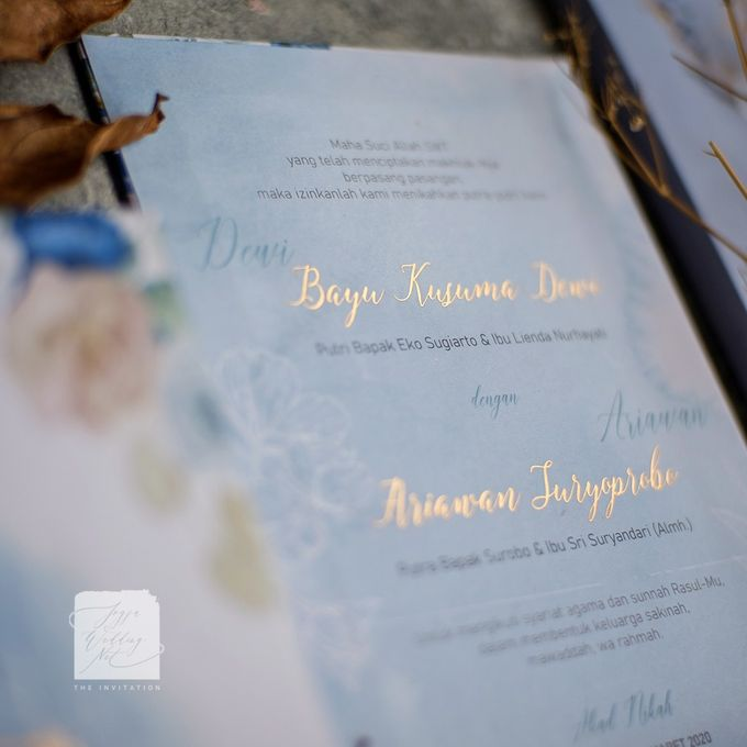 Mirror Wedding Invitation - DEWI & ARIAWAN by Jogja Wedding Net - 002