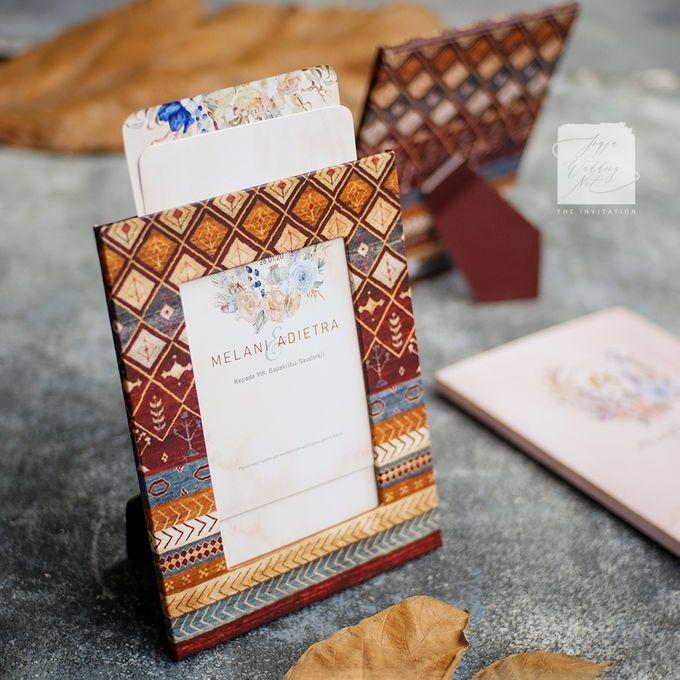 Photo Frame Wedding Invitation - MELANI & ADIETRA by Jogja Wedding Net - 003