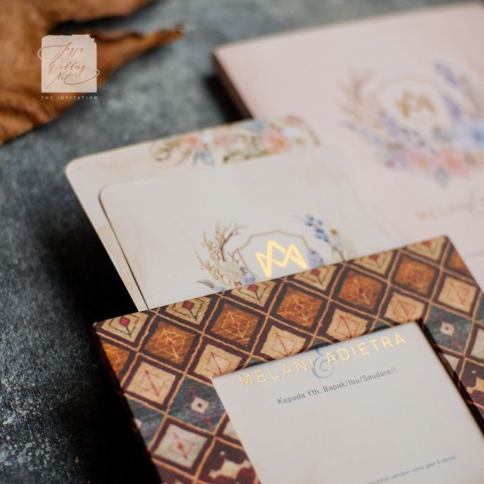 Photo Frame Wedding Invitation - MELANI & ADIETRA by Jogja Wedding Net - 002