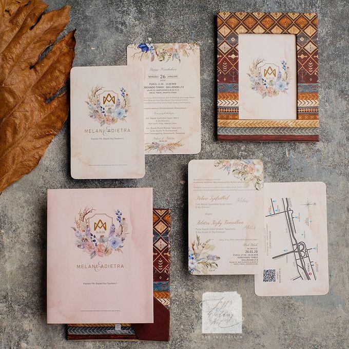 Photo Frame Wedding Invitation - MELANI & ADIETRA by Jogja Wedding Net - 005
