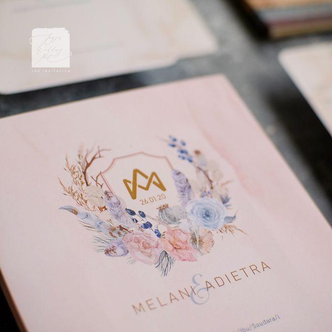 Photo Frame Wedding Invitation - MELANI & ADIETRA by Jogja Wedding Net - 004