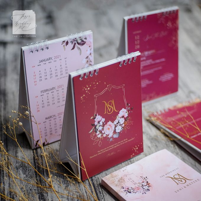 Invitation Mix Calendar - SONI & MEYSKE by Jogja Wedding Net - 005