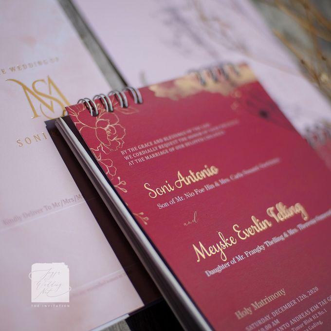 Invitation Mix Calendar - SONI & MEYSKE by Jogja Wedding Net - 001