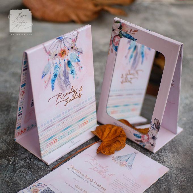 Mirror Wedding Invitation - RENDY & GADIS by Jogja Wedding Net - 004
